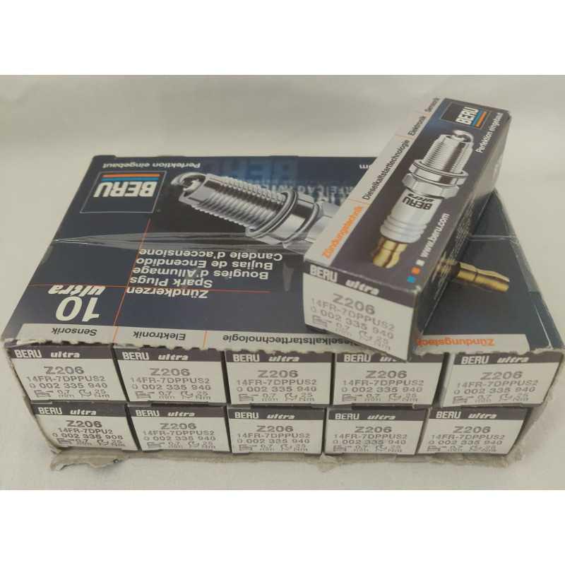 11 x BERU Tänstift Platinum Z206-bildelar