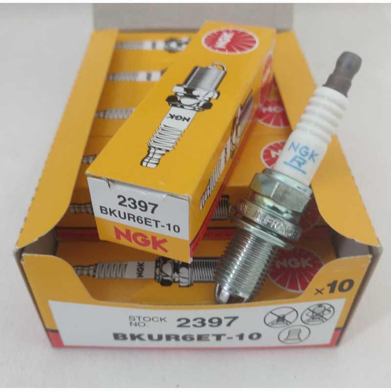 Tändstift NGK BKUR6ET-10 / 2397 (10-PACK)-autoparts