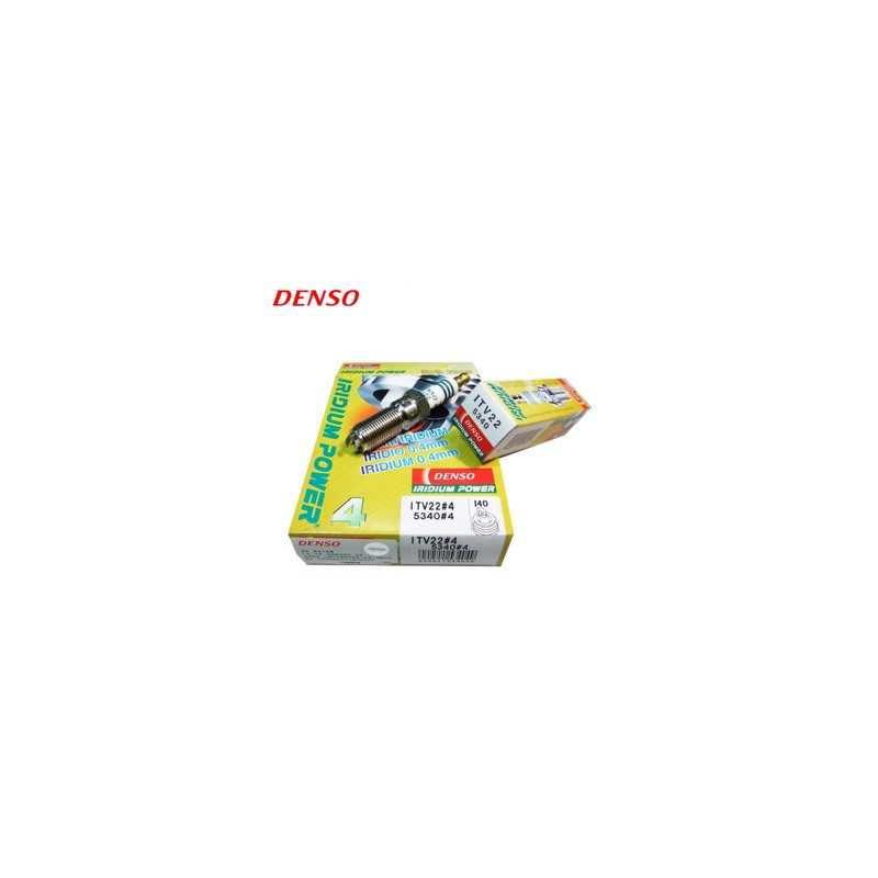 Tändstift DENSO Iridium Power ITV22 5340 (4-Pack)-autoparts